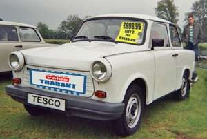 Tesco Cars closing down - Trabants from £999.99
