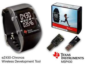 Texas Instruments EZ430 Chronos Watch 16 £ at TI deals