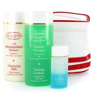 Clarins Cleansing Essentials (combination or oily skin) for £21.25 Delivered @ Salon Skincare
