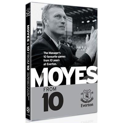 Everton David Moyes DVD Pre-order £8.49 RRP £16 at HMV
