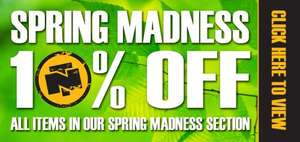 10% off All Items in the Spring Madness Section @ Northern Tool