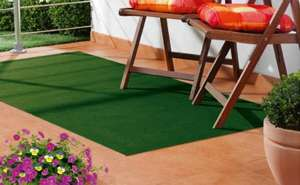 Artificial Grass Mat @lidl.          £6.99