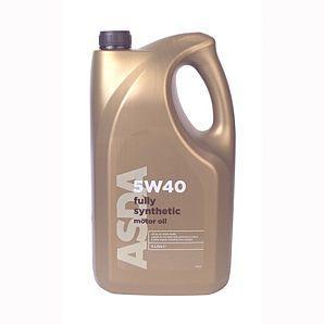 5W40 Fully Synthetic Oil - 5L  ACEA  A3/B3 £20.00 @ ASDA