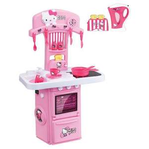 Hello Kitty Kitchen Set with Kettle & Toaster @ TESCO DIRECT £24 WAS £60