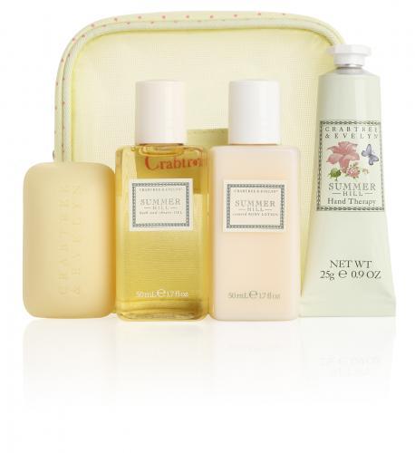 Crabtree & Evelyn Summer Hill Traveller Gift Set for £8.50 Delivered  @ Salon Skincare