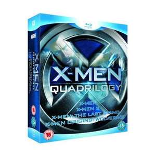 X-Men Quadrilogy Bluray only £10.99 at Play.com