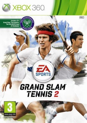EA Sports Grand Slam Tennis 2 Xbox360/PS3 + FREE delivery @ Zavvi £19.95