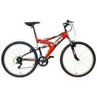 Trax TFS.1 Mens Full Suspension Mountain Bike 26inch rims and 18inch frame