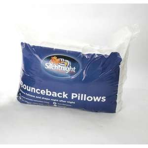 Silent Night  Bounce Back Pillows (4 pack) instore for £12 @ Morrisons