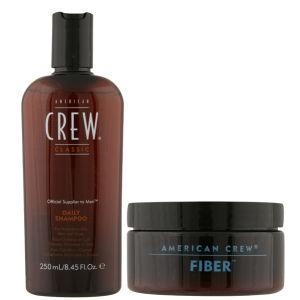 American Crew Fiber and Shampoo