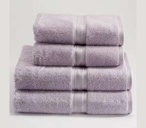 Christy Panache Combed Cotton Towels - 70% off bath Towel or sheet £5.40 limited colours left @ Just Linen