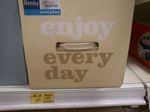 Denby James Martin Everyday White 12 Piece Boxed Set Was £67 Now £16.75@Tesco instore