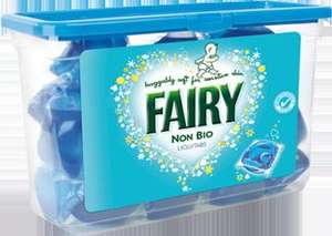 Fairy non bio Liquid Tabs 33pk - £5.99 @ Home Bargains