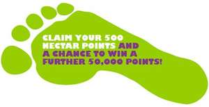 Free 500 nectar points @ BP