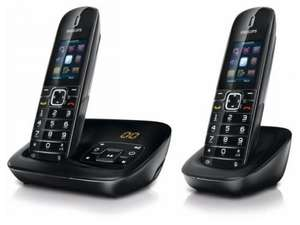Philips CD6852B BeNear Cordless Phones Twin Only £36.99 @ Bennetts