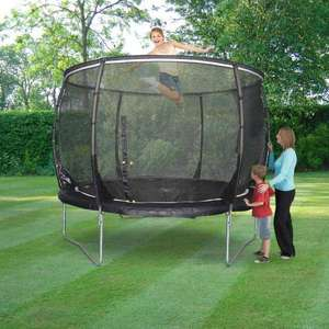 Plum 10ft Trampoline and  Enclosure £81.47 @ buy 4 less