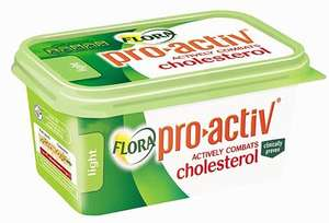 Flora Pro-Activ Spread 500G (lowers 'bad' cholestoral) £3.00 @Tesco (or £2.00 with FB coupon)