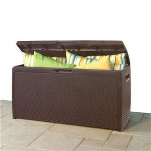 Keter Rattan Style Storage Box for £54.49 wth Free next day delivery @ SimplyGardenFurniture
