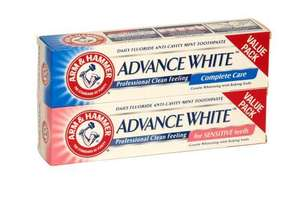 Arm & Hammer Advance White / Sensitive (125g) - £1 delivered @ Concord Extra