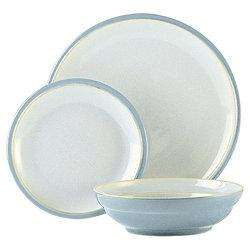 Denby Everyday12 piece boxed set - Cool Blue- £21.25 TESCO - INSTORE ONLY