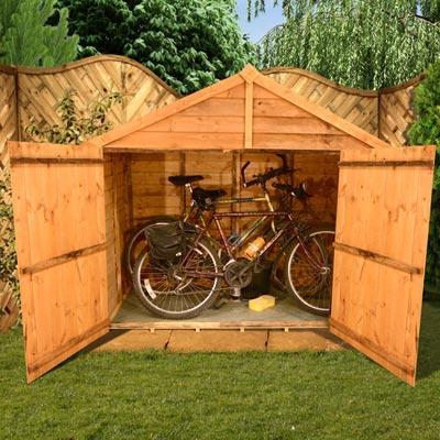 3 x 6 Overlap Bike Store for £124.90 @ Garden Buildings Direct (Includes Floor)