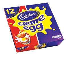 12 full size creme eggs for £1 @  Asda! 8.3p each!