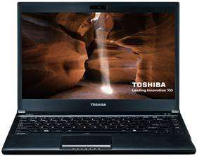 Toshiba R830 - Sandy Bridge i3, DVD drive, 1.4kg, long battery - £449.98 @ SaveOnLaptops