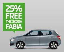 SKODA FABIA SE 25% off NOW £8950 from all Skoda dealers NATIONWIDE!