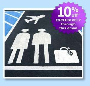 10% off Airport Parking + Airport Hotels  at Holiday Extras