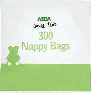 Asda Smart Price 300 Nappy Sacks £0.35 @ Asda