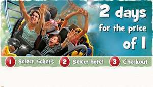 Kids Go Free on selected dates + 2nd Day FREE on all Holidays @ Chessington Holidays