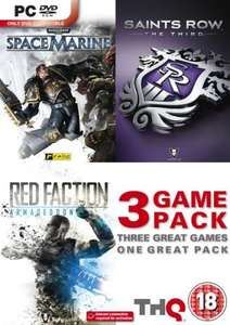 Saints Row The Third, Space Marine and Red Faction Armageddon Triple Pack (PC) for £19.99 @ Tifili