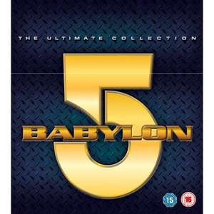 Babylon 5 Ultimate collection 42-disc DVD boxset, Argos £44.99 delivered