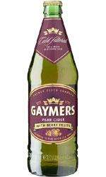 Gaymers pear cider with berry fruits 330ml 59p at b&m south shields