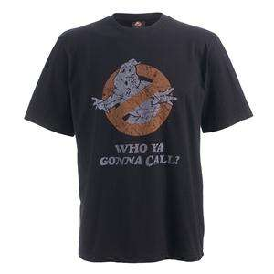 Ghostbusters Men's Who Ya Gonna Call T-Shirt (Black) £5.99 @ Play