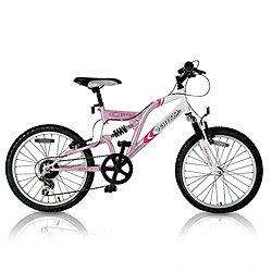 "Vertigo Vesuvius Dual Suspension Kids 20"" Wheel Bike - Girls was £70 now £35 @ Tesco"