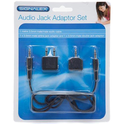 Signalex Audio Jack Adaptor Set - £1 @ Poundland