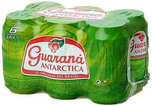 guarana antarctica 6 pack 330ml £1 @ Home Bargains