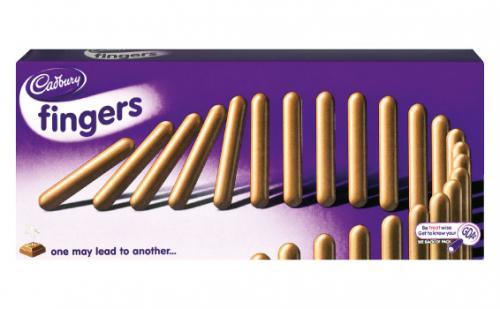 Cadbury Milk Chocolate Fingers 89p @ Lidl