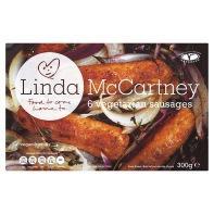 Linda McCartney Vegetarian Sausages (6 per pack - 300g) - £1 - ASDA/TESCO