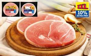 2 Gammon Steaks - 10% Extra Free £ 1.69 @lidl