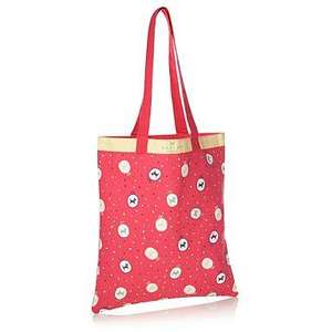 Debenhams - Radley Pink Cotton Cameo Tote Bag - £5.67 with code + free delivery + TCB