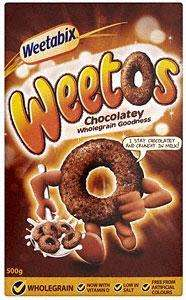 Weetabix Weetos (500g) was £2.50 now £1.25 @ Morrisons