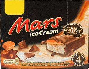 ICE CREAM! Mars/Fudge 4pk Ice Cream bars FOR £1! Also Twix 6pk ice cream for £1.50 at Heron Foods