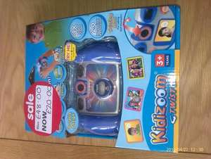 Kidizoom twist camera £20 (& kidizoom video camera £22) at Asda - instore only