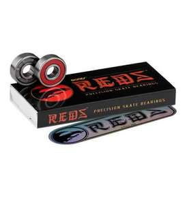 Bones Reds Skateboard Bearings 14.99 at www.boardridersguide.com