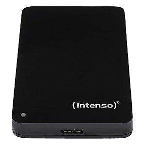 Intenso Portable External Hard Drive, USB 2.0, 1TB, Black - £64.95 @ John Lewis