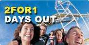 Thorpe Park 2FOR1 when you buy a national rail ticket £35.70 @ SouthWestTrains