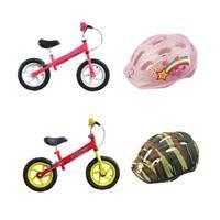 Balance bike and helmet - £29.99 from Rutland cycles