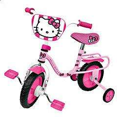 "Hello Kitty 10"" Bike half price now £22.49 del to store @ Sainsbury's ( still £50 @ Tesco )"